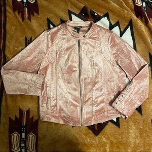 Torrid Velvet Moto Jacket